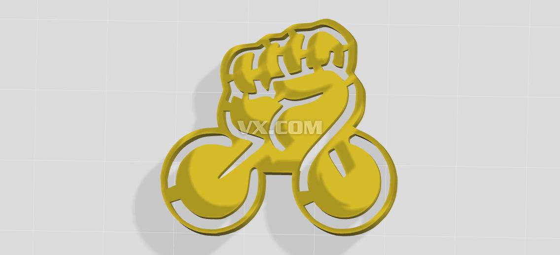 自行车比赛logo设计