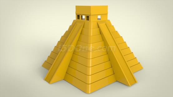 3done金字塔小课件:追寻古老玛雅足迹