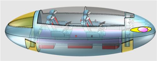 《悬浮穿梭者》获第十八届全国中小学电脑制作活动高中组3d创意设计图片