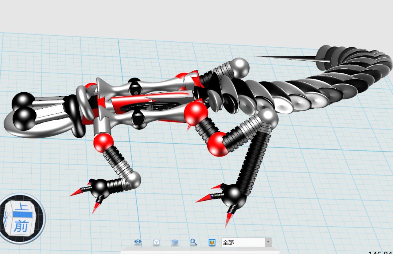 时代机器人_作品壁虎_3DOne官网i3火星天地室内设计预科图片