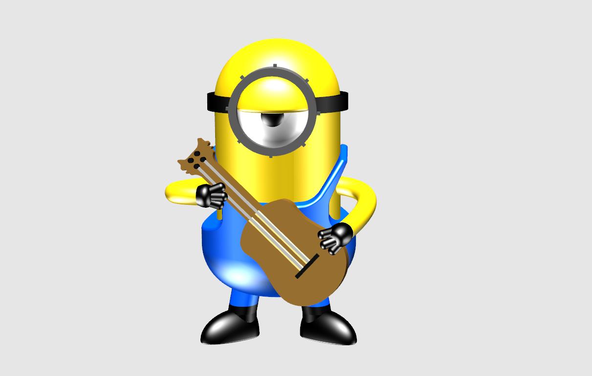 小黄人,Music on !.png